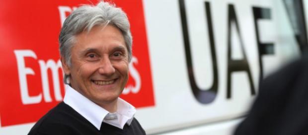 Giuseppe Saronni ha lasciato il ruolo di General manager della UAE