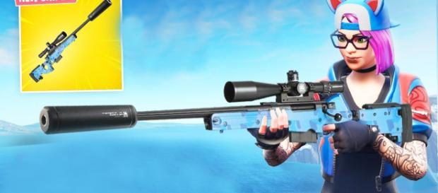 Suppressed Sniper Rifle is coming to 'Fortnite Battle Royale.' - [Fortnite Clips / YouTube screencap]