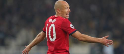 L'Inter prepara il colpo Robben