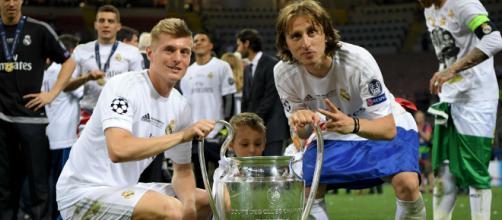 Modric e Kroos nel mirino dell'Inter