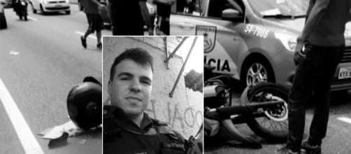 Policial foi morto no sábado (Reprodução Arquivo Pessoal / TV Globo)