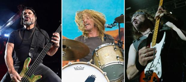 Members of Foo Fighters, Metallica and Iron Maiden Jam Together - ultimateclassicrock.com