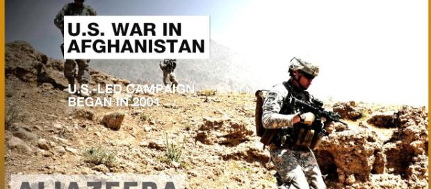 US troops in Afghanistan- Photo-Image credit( Aljazeera channel/ youtube.com)