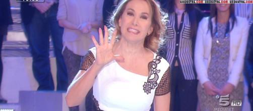 Barbara D'Urso torna il 7 gennaio con Pomeriggio 5