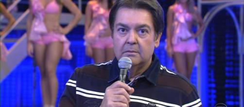 Faustão detonou políticos (Reprodução / TV Globo)