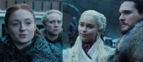 Game of Thrones : Sansa rencontre Daenerys dans un premier teaser