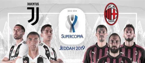 Juventus-Milan, Supercoppa Italiana