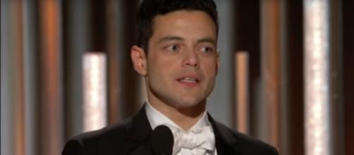 Rami Malek was among the 2019 Golden Globe winners who made sure that the music and the message were heard.[Image source:NBC-YouTube]