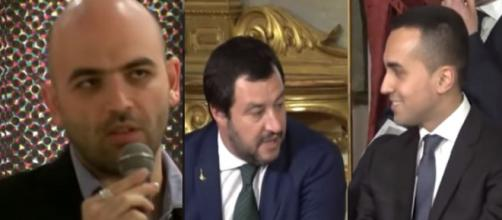 Saviano attacca duramente Salvini e Di Maio