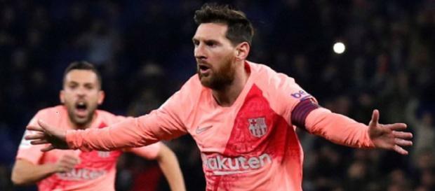 Messi y la sana costumbre de marcar en día de Reyes