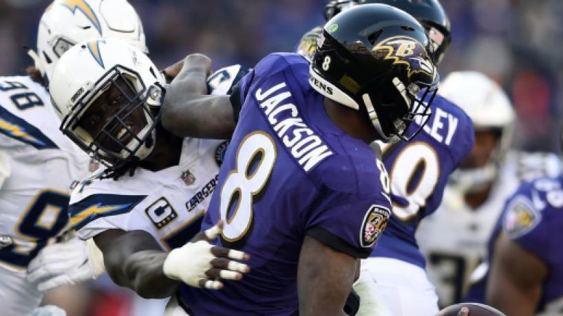 NFL Wild Card: Los Chargers desconectan a los Ravens de Lamar Jackson: ganan 23-17