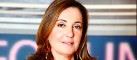 La giornalista e conduttrice Barbara Palombelli