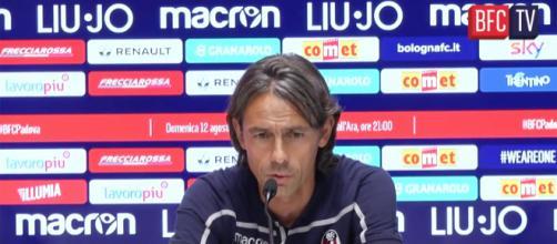 Filippo Inzaghi, allenatore del Bologna