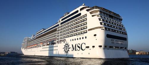 La nave Msc Magnifica per il giro del mondo