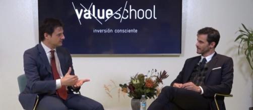 Lorenzo Serratosa y José Iván García, dirigentes de la Value School
