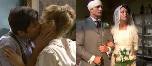 Trame Una Vita: Blanca diventa la moglie di Samuel, Simon bacia Elvira