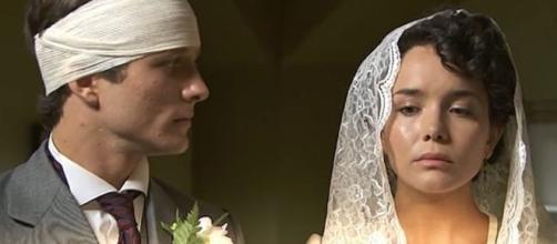 Una vita, anticipazioni dal 13 al 18 gennaio: Samuel e Blanca si sposano.