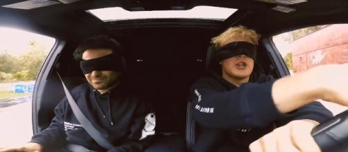 "YouTube celebrity Jake Paul takes on a 24-hour ""Bird Box Challenge."" [Image Jake Paul/YouTube]"