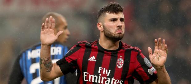 Patrick Cutrone Attaccante Milan