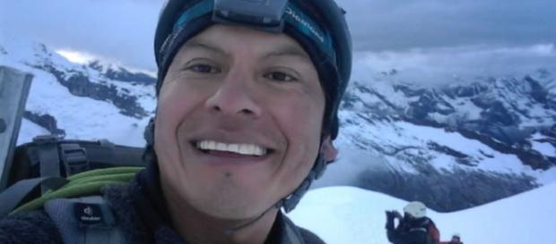 Rubén Darío Alva , guía peruano que falleció junto a los montañistas españoles.