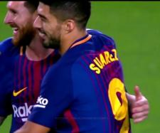 Messi e Suárez (Imagem via Youtube)