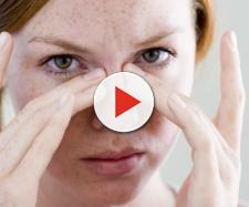 Alcuni sintomi della presenza di polipi nasali.