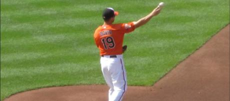 Chris Davis had a miserable 2018 season with the Orioles. [Image Source: Flickr | Deena]