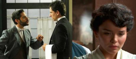 Trame Una Vita: Victor licenzia Antonito, Blanca infelice con Samuel