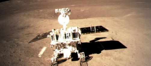 Agência espacial chinesa divulga novas imagens da jornada da sonda (Reprodução)
