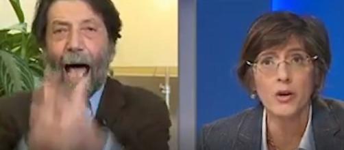 Cacciari - Bongiorno duello in tv su La 7