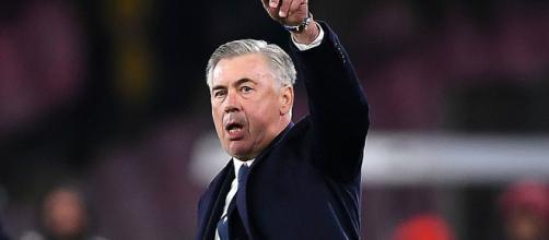 Carlo Ancelotti, allenatore dell'SSC Napoli