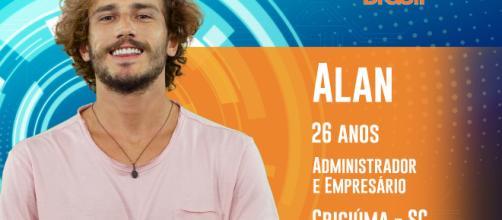 De nudes a relatos de superação: conheça Alan, o participante do BBB19. (Foto:TV Globo)