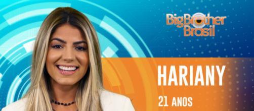 Hariany, integrante do BBB19 (Reprodução: GShow)