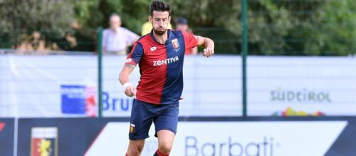 Il difensore del Genoa, Nicolas Spolli