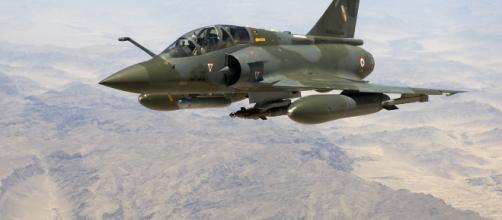 Le Mirage 2000 a disparu des écrans radars, ce matin, aux alentours de 11 heures.