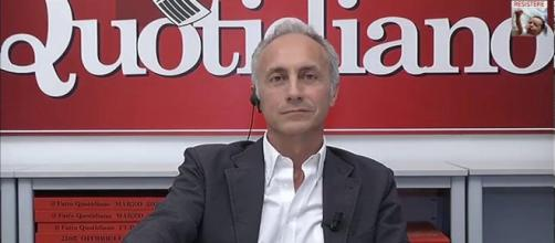 Marco Travaglio parla del caso Carige a DiMartedì