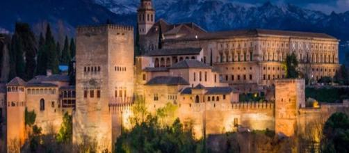 The Alhambra Palace in Granada, Spain [Image source: Alamy]