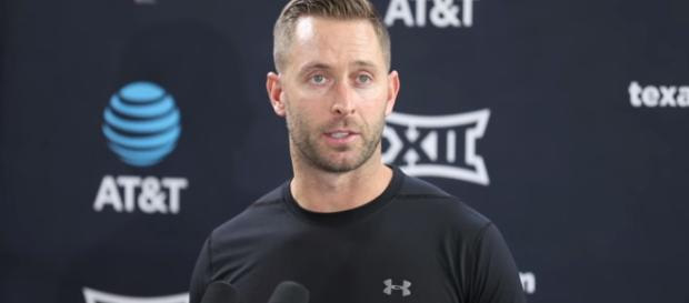 Arizona has made a questionable hire with Kliff Kingsbury. [Image Credit] Lubbock Avalanche-Journal - A-J Media - YouTube