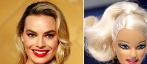 Margot Robbie to produce and star in Barbie live-action film. [Image source/Top U.K. NEWS YouTube video]