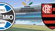 Grêmio x Flamengo: transmissão ao vivo na Globo, nesta quarta (2), às 21h30