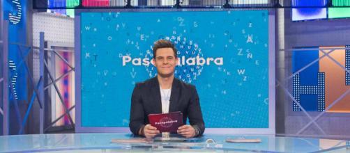 Christian Gálvez, en el plató de 'Pasapalabra'.