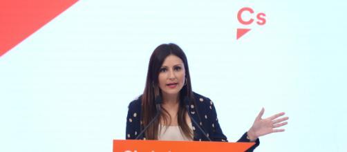 Lorena Roldán, portavoz de Cs en el Parlament.