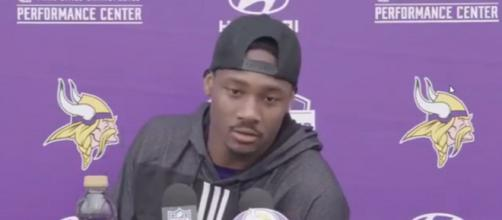 Diggs has 13 catches for 209 yards and a touchdown this season. [Image Source: UNB! Sports/YouTube]