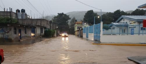 La tormenta Narda se degradó a depresión tropical. - masnoticias.mx