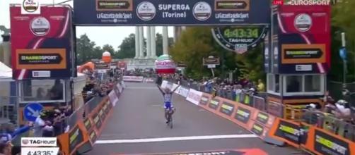 Thibaut Pinot, vincitore della Milano-Torino
