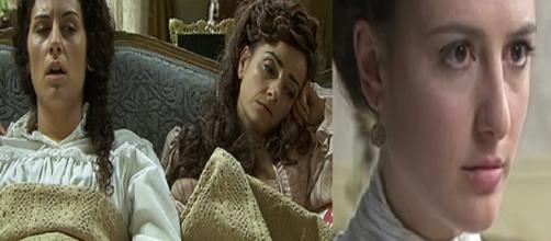 Una Vita, trame al 12 ottobre: Trini e Lolita stanno male, Lucia è una ricca ereditiera