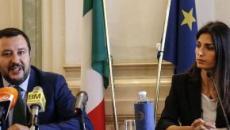 Virginia Raggi contro Salvini: 'Non hai mai lavorato, con voi anarchia'
