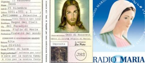 carta di Identità di Gesu di Radio Maria