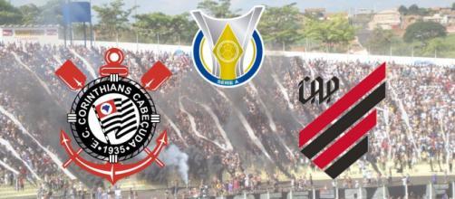 Corinthians x Athletico-PR: transmissão ao vivo no Premiere. (Fotomontagem)