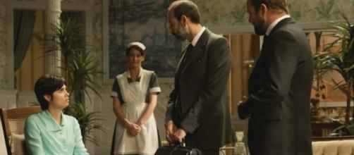 Il Segreto spoiler: Maria riceve una falsa diagnosi sulla sua salute a causa di Fernando